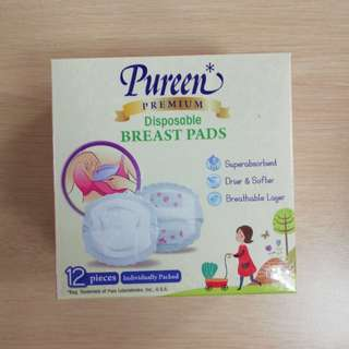 Pureen disposable breast pad
