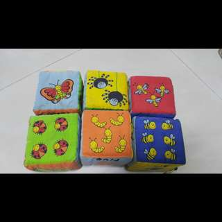 Simple Dimple Fun Learning Fabric Blocks for Babies and Toddler