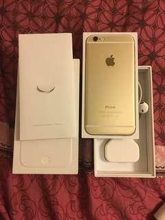 iphone 6 16G 金色行貨
