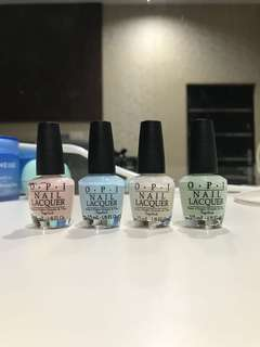 OPI Nail Lacquer 1 Set Isi 4 (Isi 3,75ML) NEW NET PRICE
