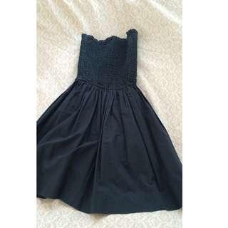 HOLLISTER STRAPLESS DRESS (XS)