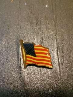 美國旗pin