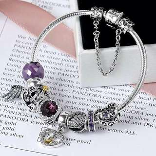 Pandora Bracelet S925 + Package with beads