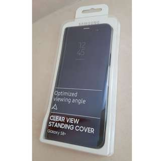 Samsung Galaxy S8+ Clear View Standing Cover 三星原裝保護套