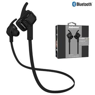 Jabees Beating 藍牙4.1 運動防水 耳塞式 無線藍牙耳機 in-ear Bluetooth Wireless Earphone Headphone for iPhone Android