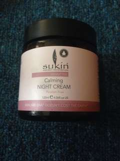 Sukin Sensitive Calming Night Cream