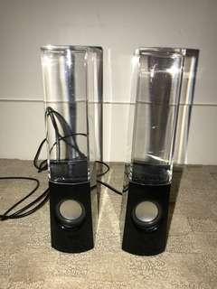 Bouncing Water Speakers