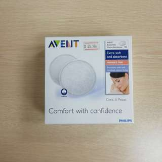 Avent washable breast pad