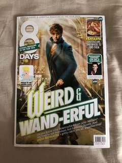 8 Days Magazine Fantastic Beasts