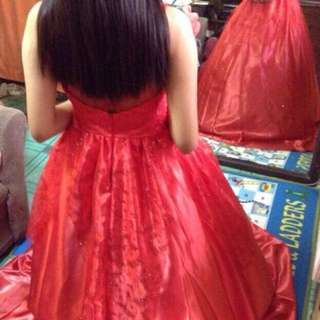 Red Gown ( Gown for Rent )