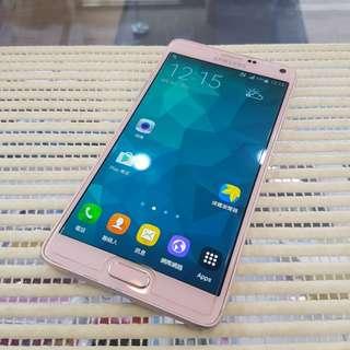 三星 Samsung Note4 32G 粉色 Pink