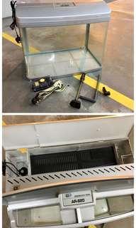 全新AR 620 Aquarium  魚缸連濾水及氧氣泵