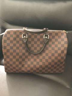 Louis Vuitton Speedy 35 Damier Ébène