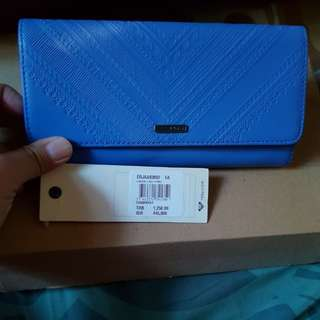 Dompet roxy..new..ori..warna biru