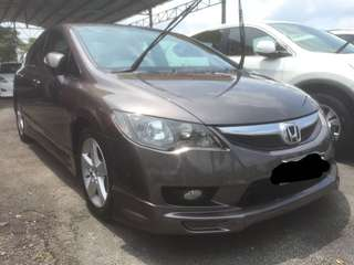 HONDA CIVIC FD 1.8 AT 2010