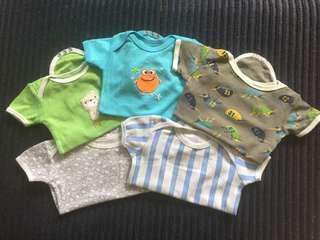 Carter's 5-pack onesies