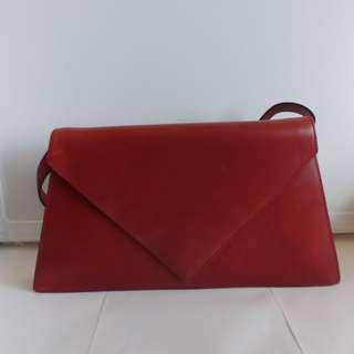LOEWE triangle letter bag