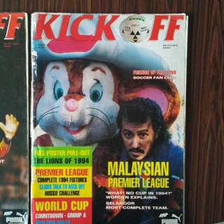 1994 edition Kickoff magazine