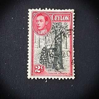 Ceylon Stamp