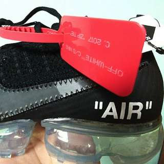 [US 7 & 9.5] 2 FOR $1850 Nike air vapormax x off white