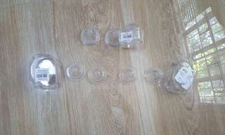 Preloved Avent Newborn Teats  No. 1 / Nipple - take all 6 for 500