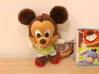 🚚 日本帶回~迪士尼限定版夏威夷風米奇 可愛 夏威夷風格 米奇 療癒 全新