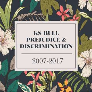 KS Bull Prejudice and Discrimination Essays