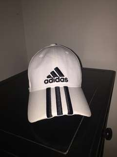 Adidas 3-Stripes White Cap