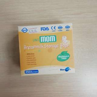 Unimom disposable breast milk storage bag