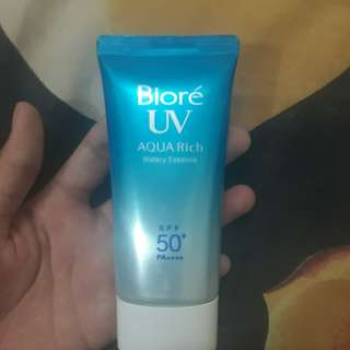 Biore UV Aqua Rich Sunscreen SPF 50+ PA++++