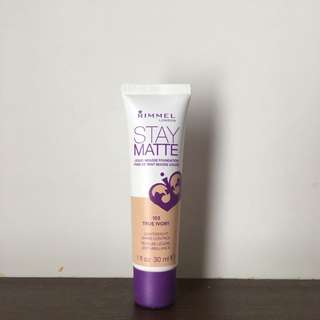 Rimmel Stay Matte Foundation True Ivory