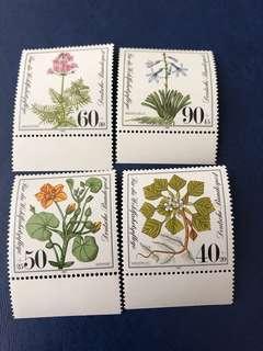 德國1981 水生植物
