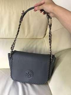 Tory Burch handbag 手袋 grey 灰色