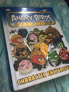 Angry bird character encyclopedia