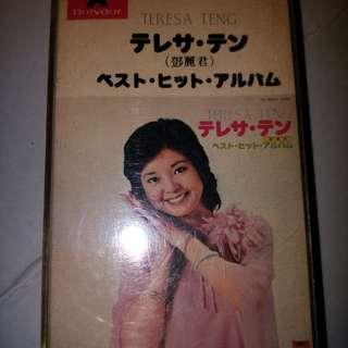 鄧丽君日本歌錄音帶