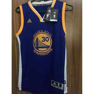 Adidas AUTH NBA Swingman Steph Curry GSW jersey BNEW