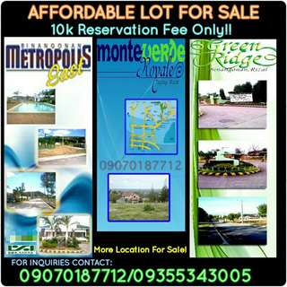 Hulugang LOTE For SALE