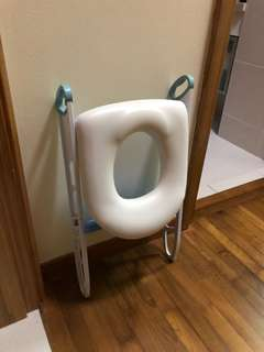 Cushion and stairs for Toilets