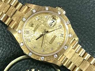 Rolex 69288 Solid Gold lady