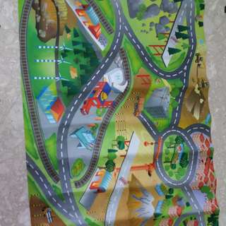 Baby play mat w/o car