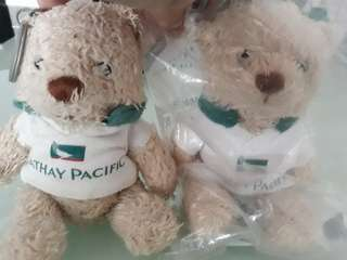 Cathay Pacific Keychain bear buddy - limited edition
