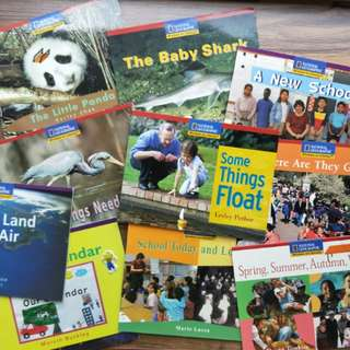 $1.90 National Geographic series window on literacy $22.80 for 12 books