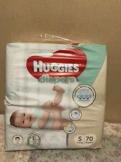 Huggies platinum diapers S SIZE