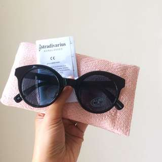Stradivarius Black Sunglasses
