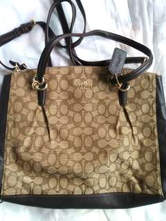 Coach Handbag Tote Monogram