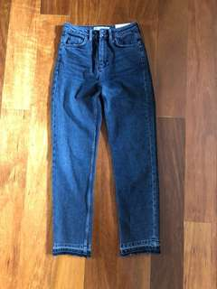 BNWT topshop moto straight fit jeans