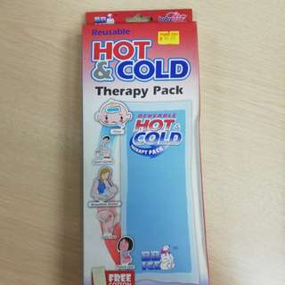 Reusable hot and cold therapy pack