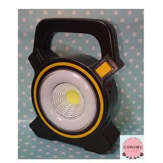 充電式/太陽能LED工作燈 手提燈 探照燈/露營燈/釣魚【LD003】