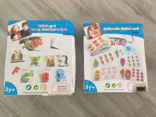 Alphabet & Number Cards Set