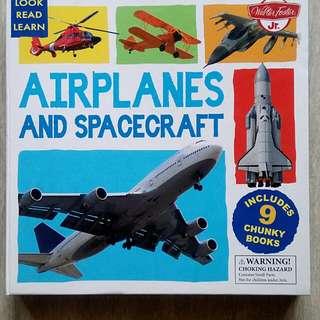Board book set Airplane